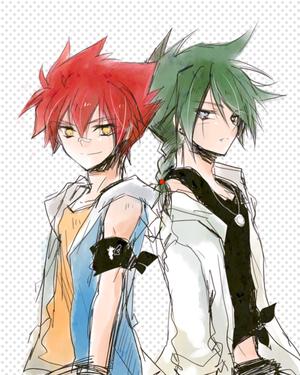 Kyoyaaa et Gingka !