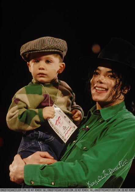 Notre amour, Michael Jackson