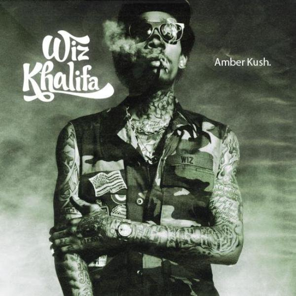 Net - Tape Cover & Tracklist : Wiz Khalifa - Amber Kush