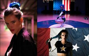 Monica Lek a pris quelques clichés de Bella sur le set d' « Assassination Nation ».