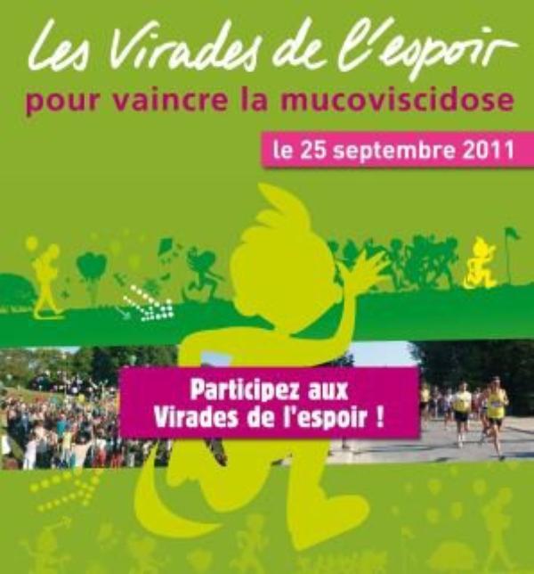 VIRADE DE L'ESPOIR LE 25 SEPTEMBRE 2011