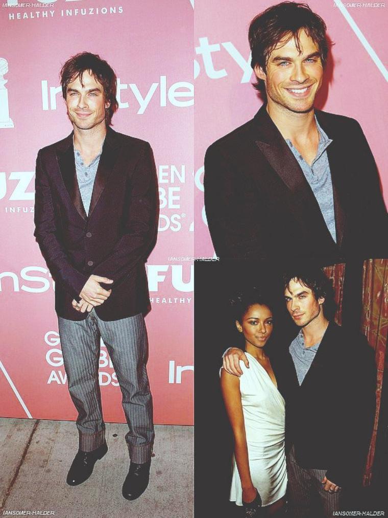 Ian était présent au InStyle Golden Globes Party . | Le 8 décembre 2009.