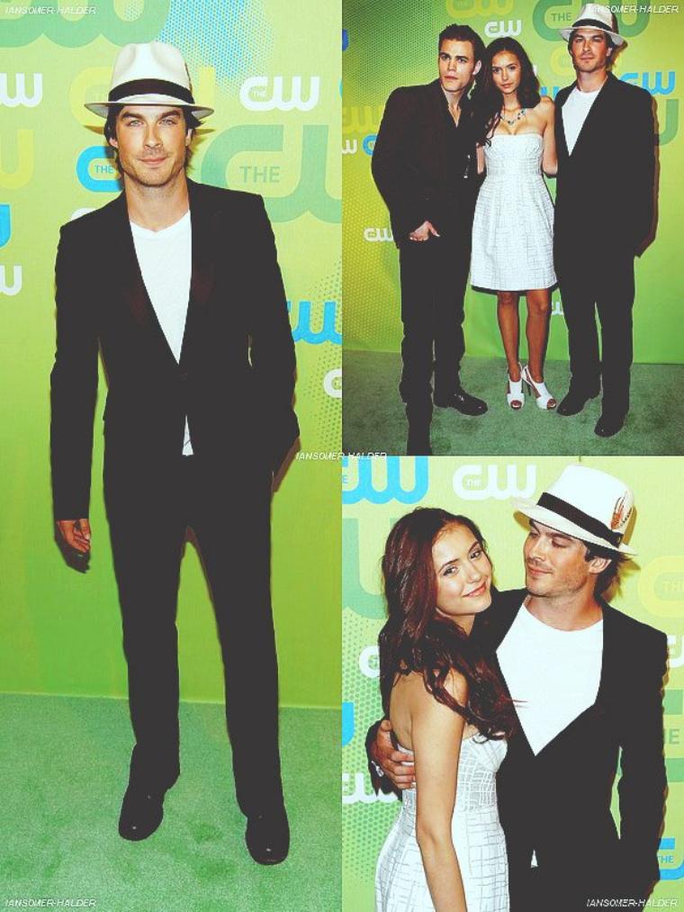 Ian était a son arriver a la CW Upfronts puis pendant le show. | Le 21 mai 2009.