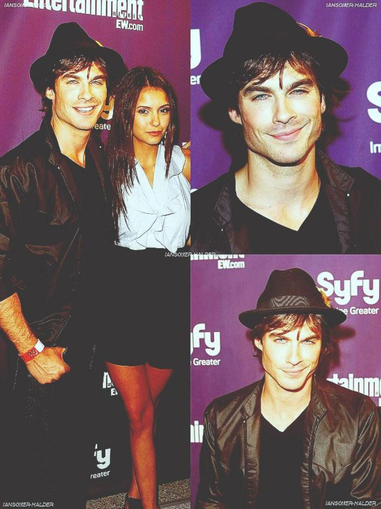 """Ian au """"Entertainment Weekly and Syfy"""".   Le 25 juillet 2009."""