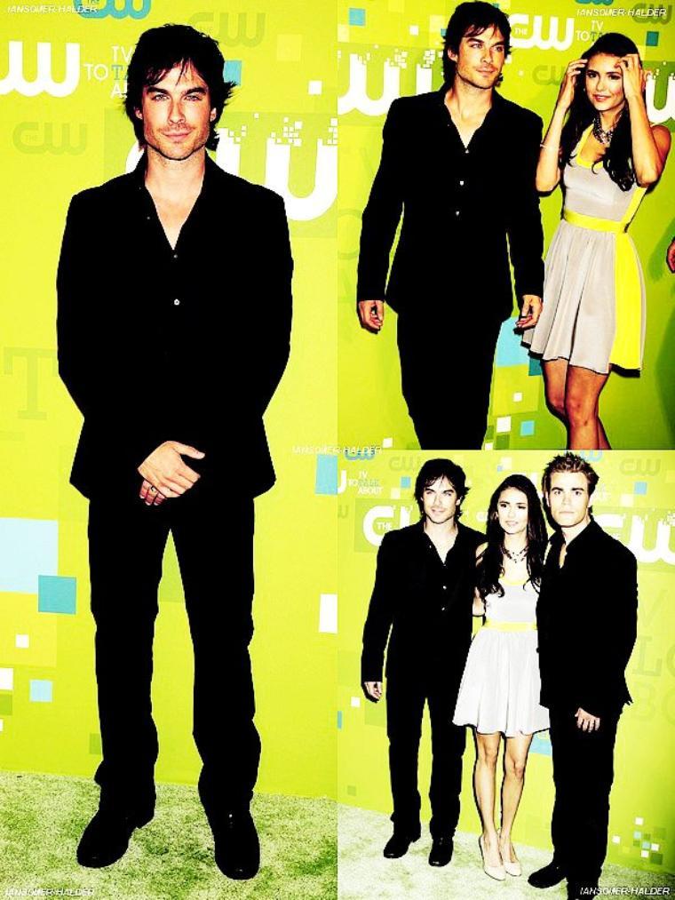 Ian était a la CW Network's Upfront 2011. | le 19 mai 2011.