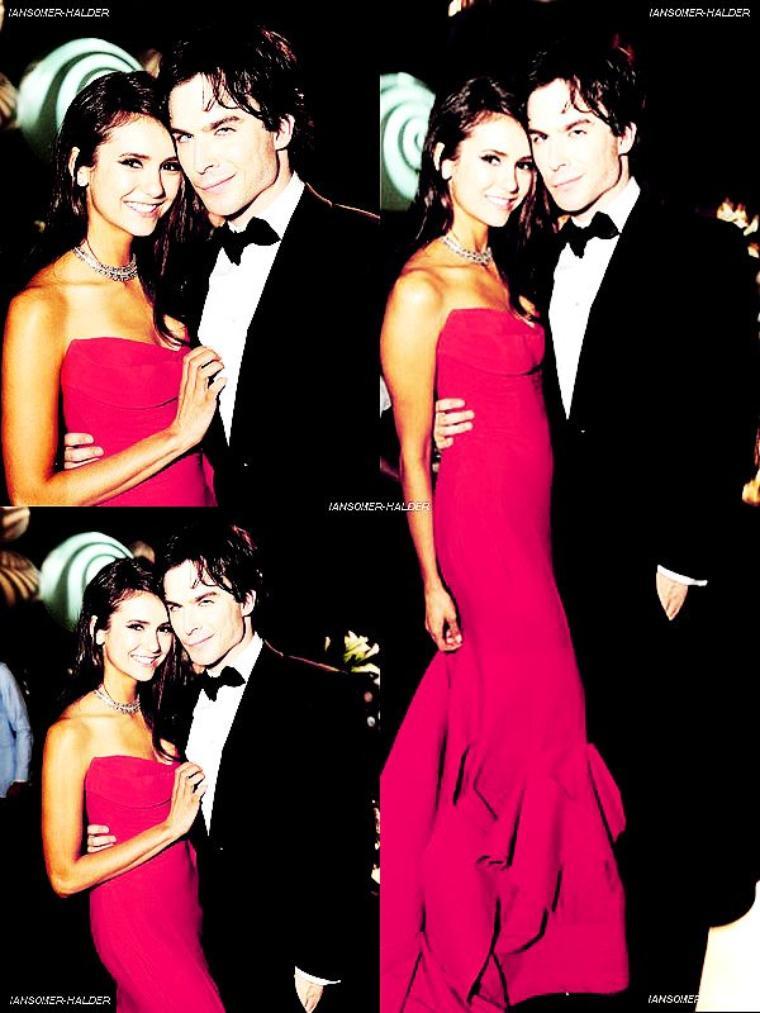 Ian était a la 63ème cérémonie des Emmy's Awards 2011 avec Nina. | le 18 septembre 2011.
