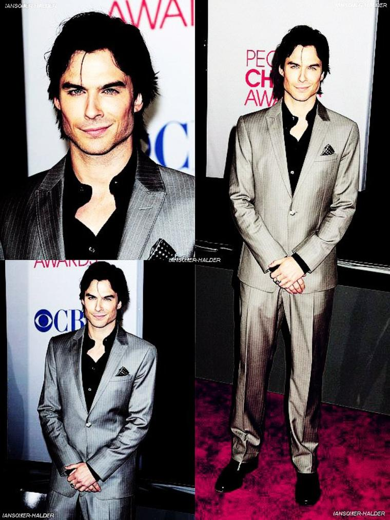 Ian était au People's Choice Awards 2012. | le 11 janvier 2012.