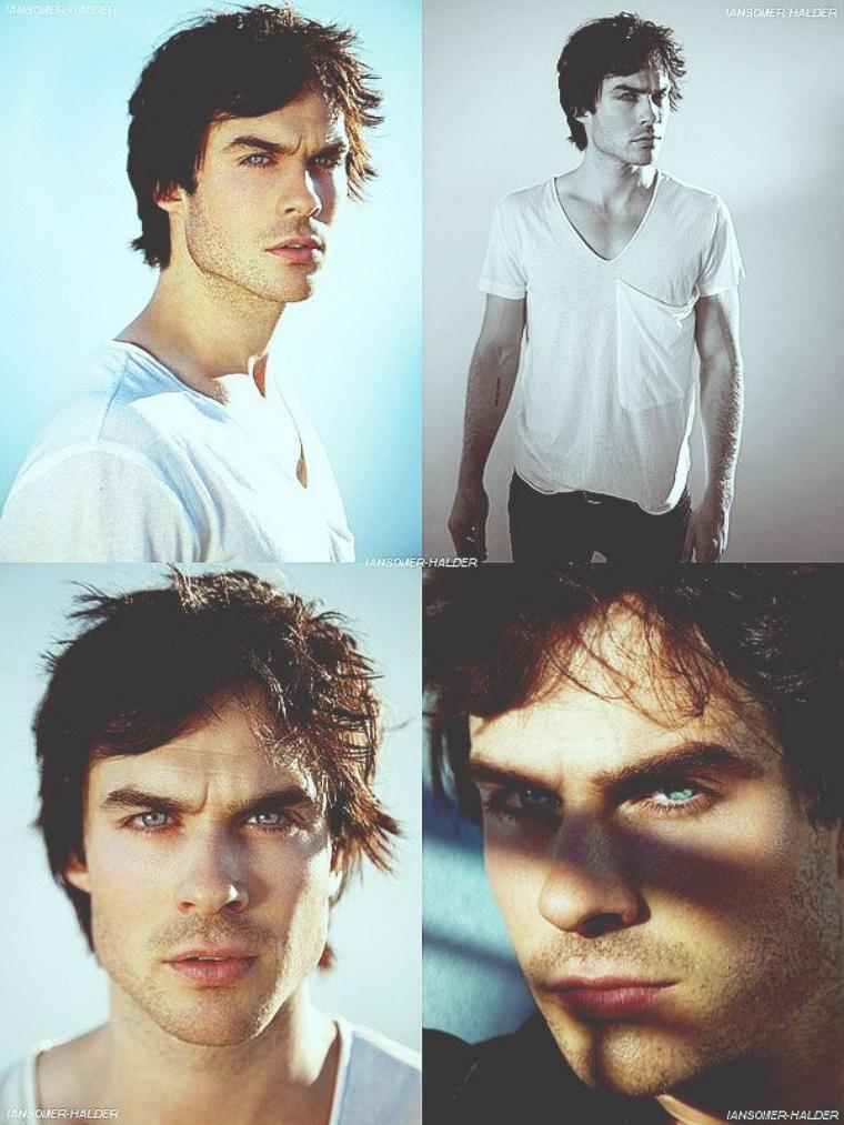 De nouvel photo de Ian pour le shoot Collin Stark sont apparu. | En 2010.