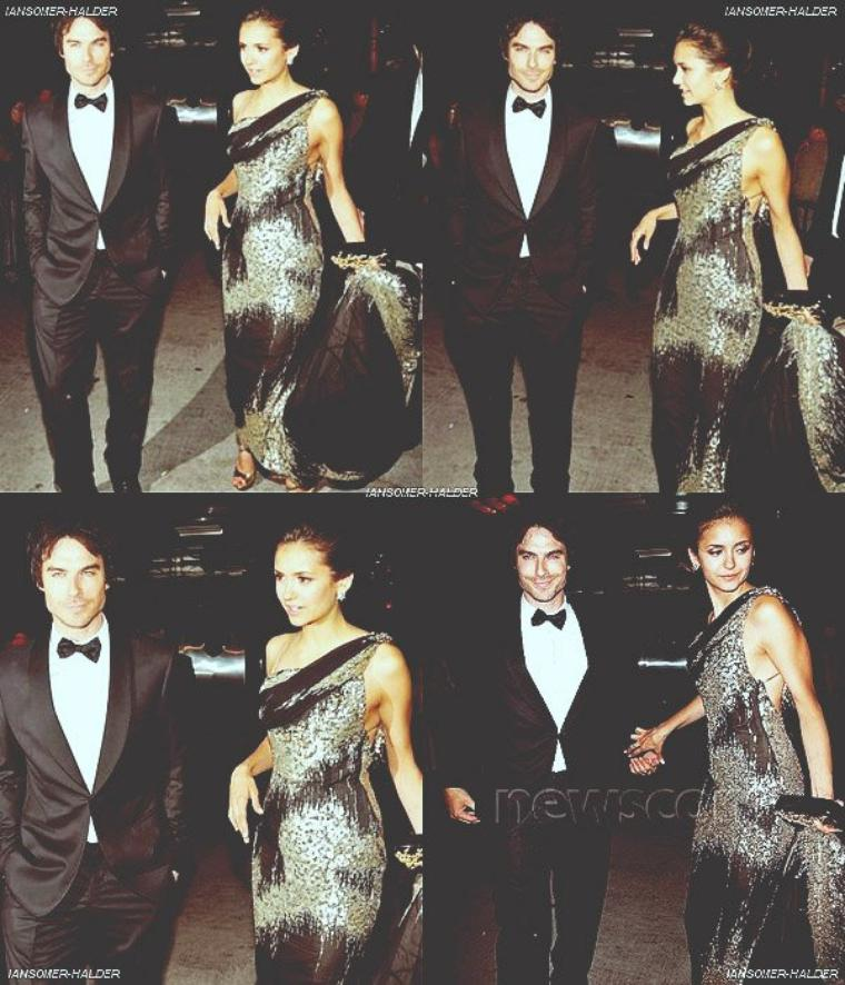 "Ian et Nina était au ""Costume Institute Gala Met Ball. 