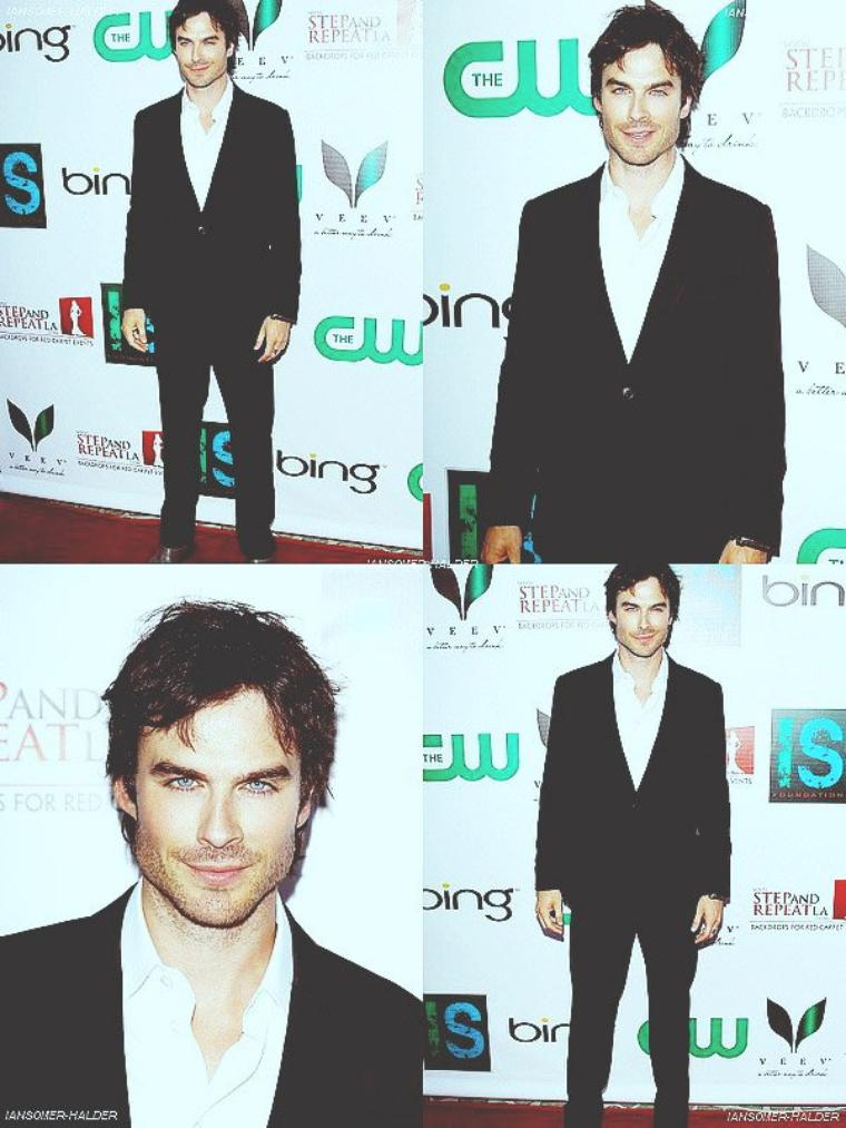 "Ian a sa soirée ""The Influence Affair "". 