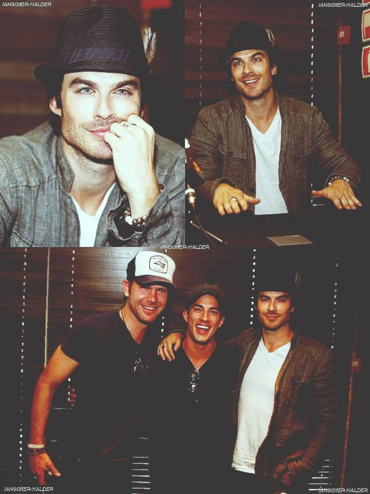 Ian était a la Bloody Night Con avec Matt et Michael. | Le 04 avril 2012.