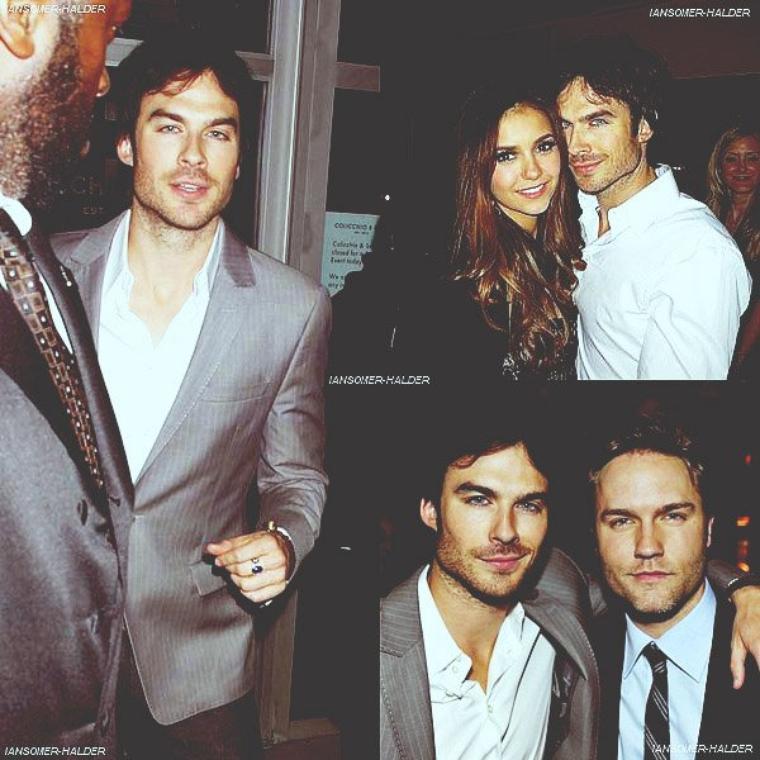 Ian était à la CW Upfront. | Le 17 mai 2012.