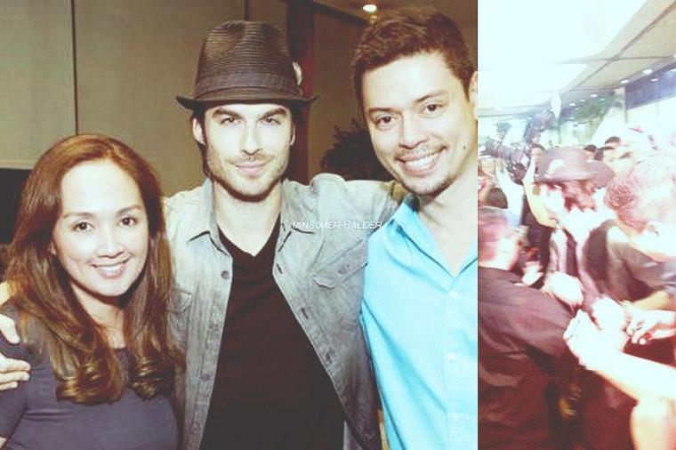 Ian était en Philippines. | Le 19 mai 2012.