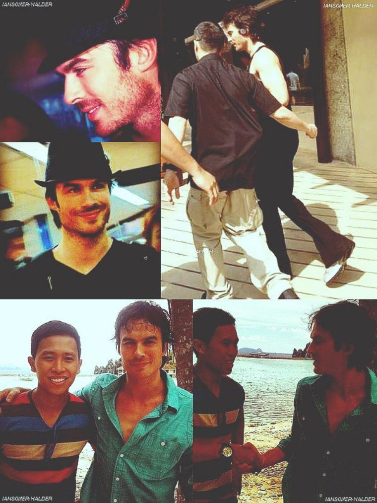 Voici quelque photos de Ian qui se promenait a Manille en Philippines. | Le 19 mai 2012.