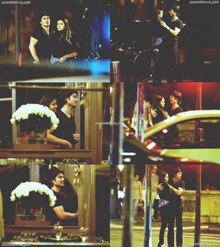 Ian et Nina se promenais en amoureux a Paris. | Le 25 mai 2012.
