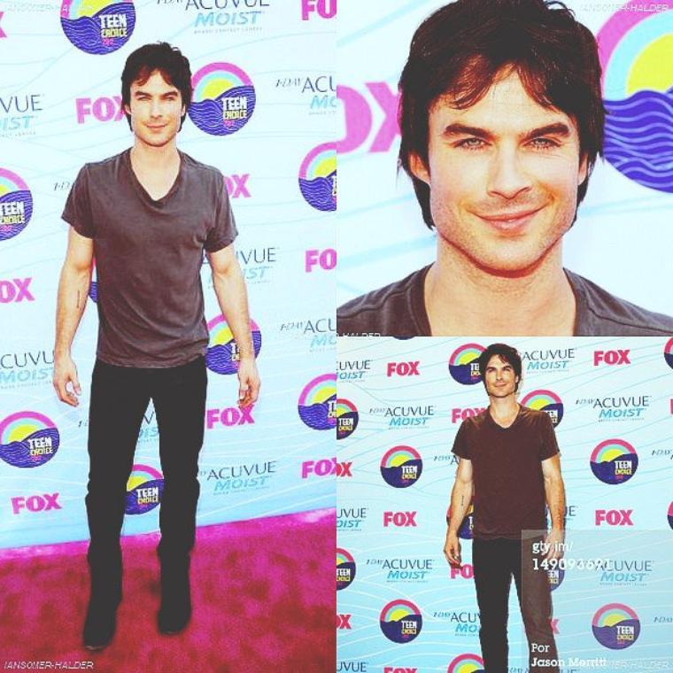 Ian était présent avec le cast a la cérémonie des Teen Choice Awards. | Le 22 juillet 2012.