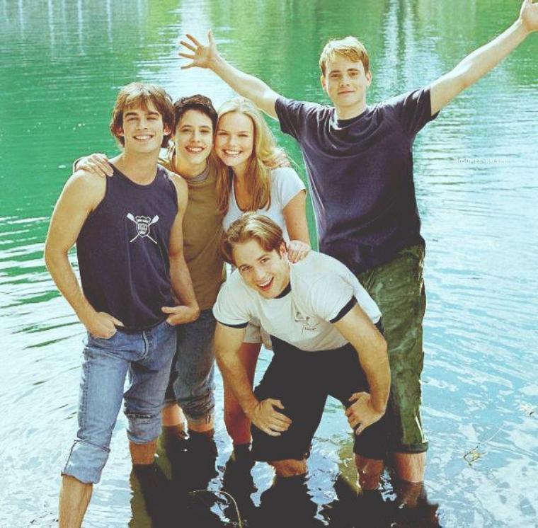 Voici les photoshoot que Ian avait réalisé pour la série Young Américans. | En 2000.