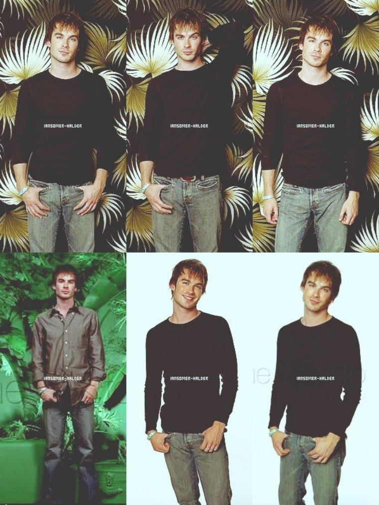 Découvrez (ou re) un photoshoot de Ian pour la série Lost. | En 2004.