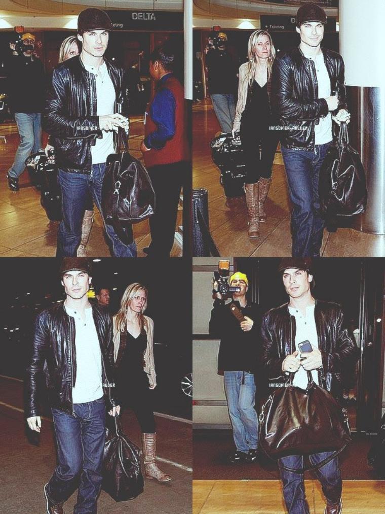 Ian était a l'aéroport de Lax de Los Angeles. | Le 8 décembre 2012