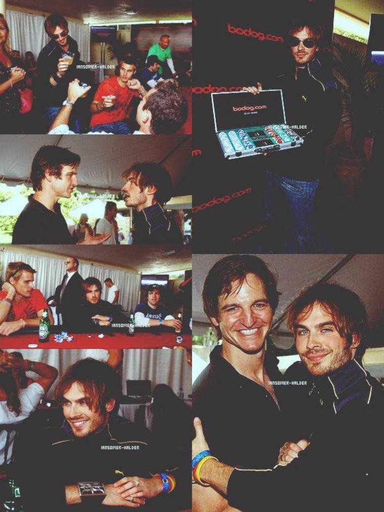 "Ian était au ""silver spoon pre-emmy hollywood buffet. | Le 16 septembre 2005."