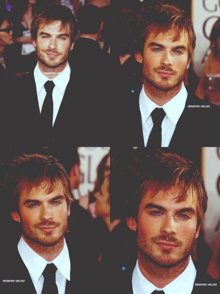 Ian était a la 62eme cérémonie des Golden Globe. | Le 16 janvier 2005.