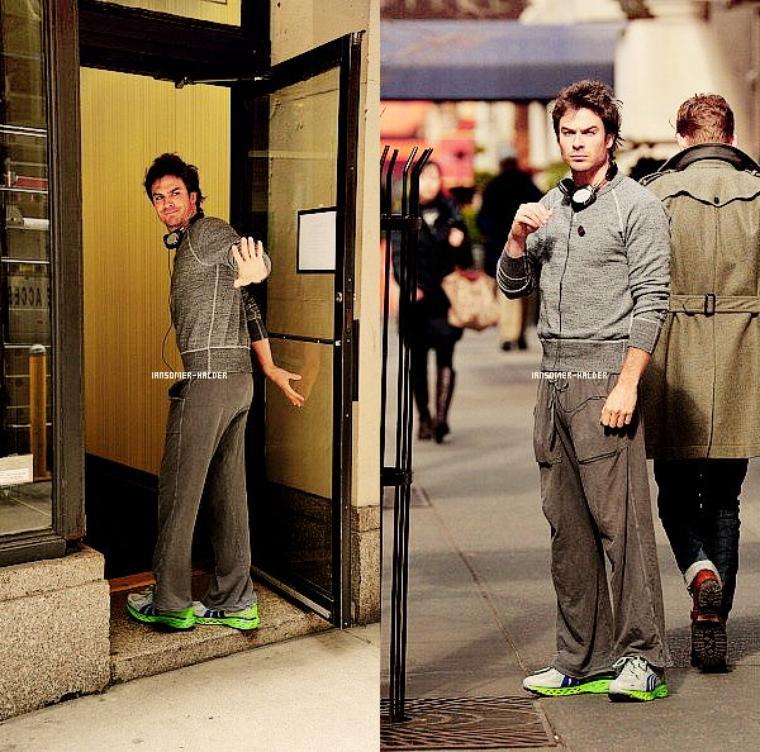 Ian était dans les rues de New-York. | Le 13 mars 2013.
