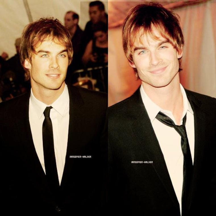 "Ian au ""Chanel Costume Institute Gala"" . 