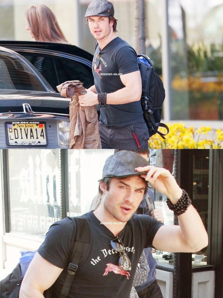 Ian à New-York. | Le 1er mai 2013.
