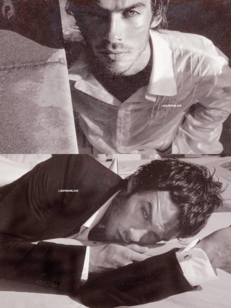 Photoshoot de Ian de Tony duran. | En 2002.