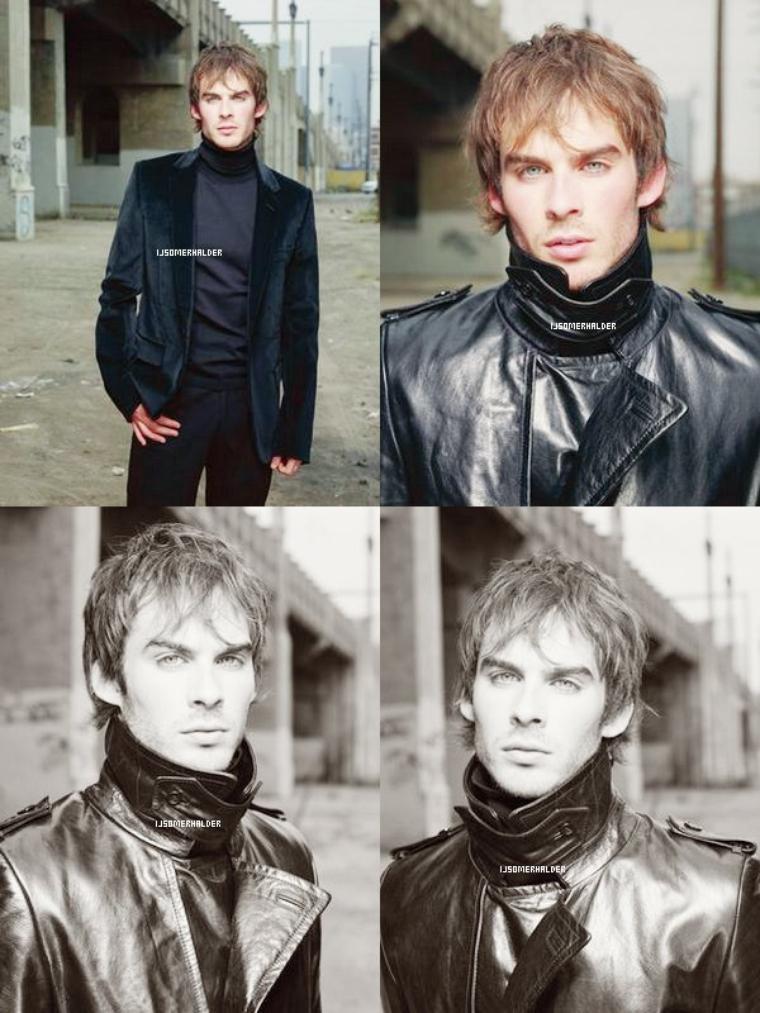 Photoshoot de Ian par Danielle Levitt. | En 2003.