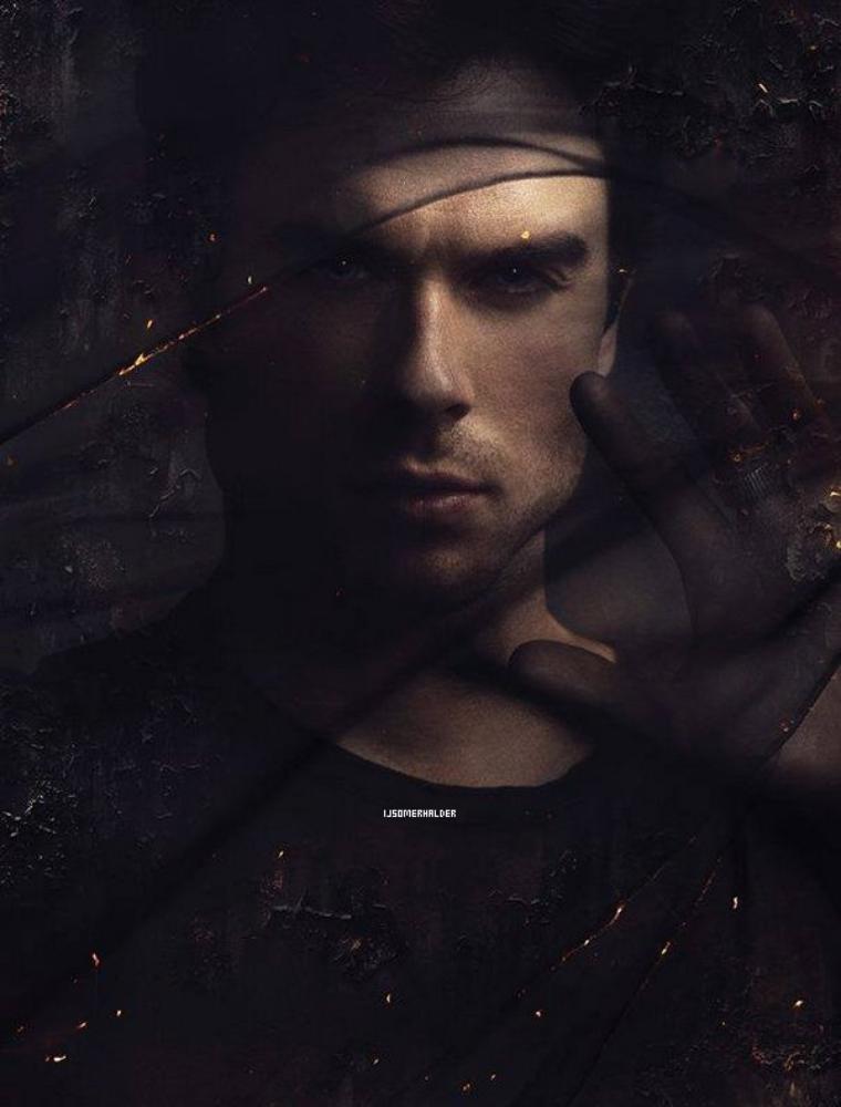Magnifique photo promo de Damon pour cette saison 5. | Septembre 2013.