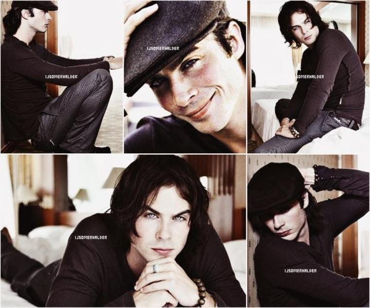 Photoshoot de Ian pour Ragazza October. | En 2006.
