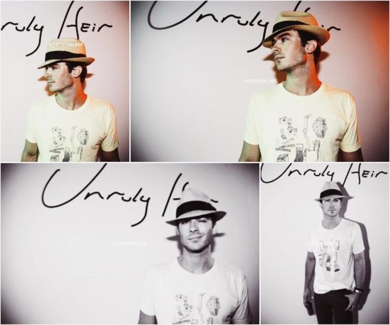 Photoshoot de Ian pour Unruly Heir.   En 2007.