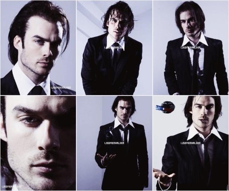 Photoshoot de Ian pour Sinisha Nisevic. | En 2007.