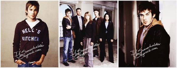 Photoshoot de Ian pour le téléfilm Fearless. | En 2004.