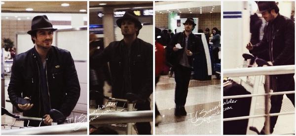 Ian a attéri a l'aéroport de Chine aujourd'hui. | Le 27 décembre 2013.