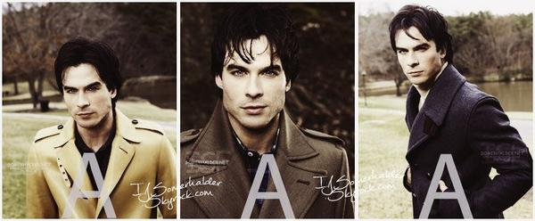 "Photoshoot de Ian et Paul pour ""Go Germany"". 