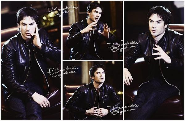 Ian a accordé une interview en Chine. | Le 30 ou 1er janvier 2014.