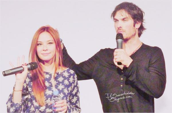 Ian a la convention Bloodynightcon a Barcelone. | Le 17-18 mai 2014.
