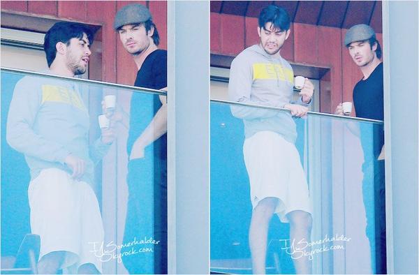 Ian encore a son Balcon de son hotel. | Le 31 mai 2014.