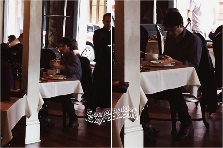 16 Novembre ->Ian est à la nouvelle Orléans, il a été appercu entrain de manger.