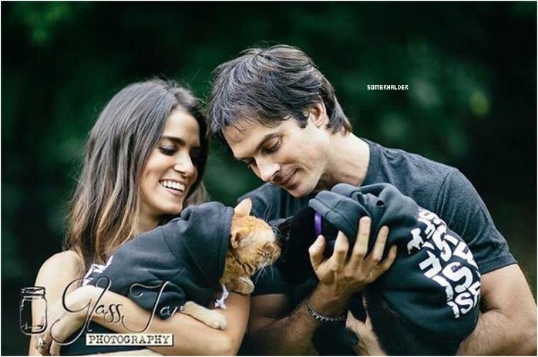En nov/déc->News shoot du couple pour la promo de nouveau produit ISF.