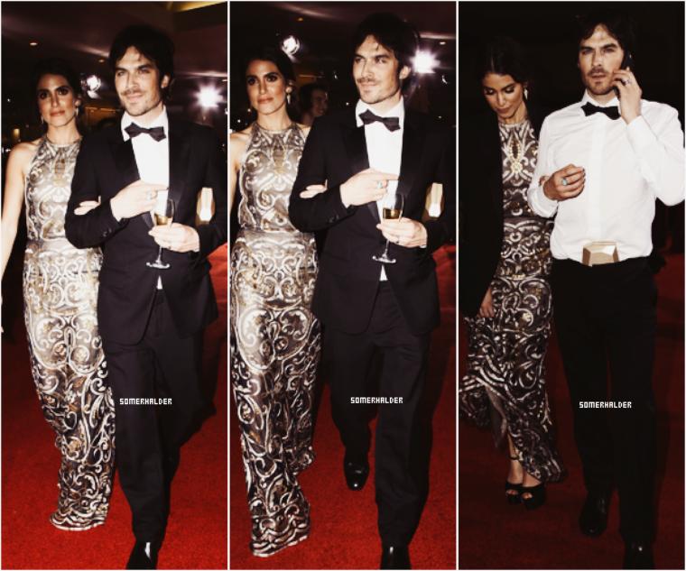 10 Janvier ->Ian et Nikki a la 73eme édition des Golden Globe.