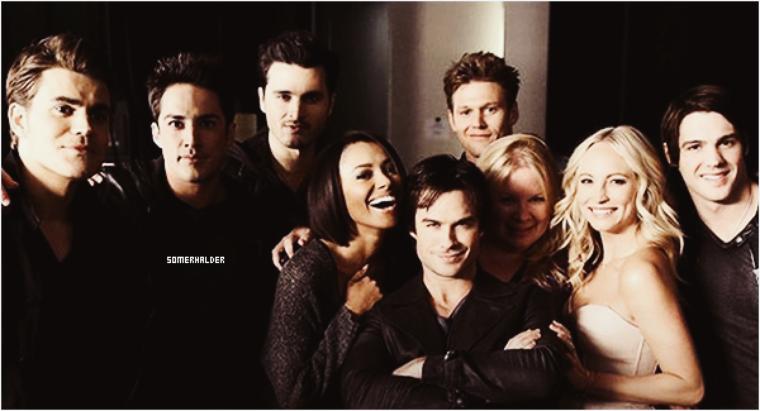 Vampire Diaries est renouvelée pour une saison 8 :)