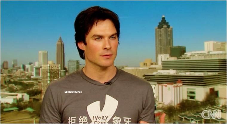 Interview de Ian pour CNN - Sa mission pour sauvé les éléphants.