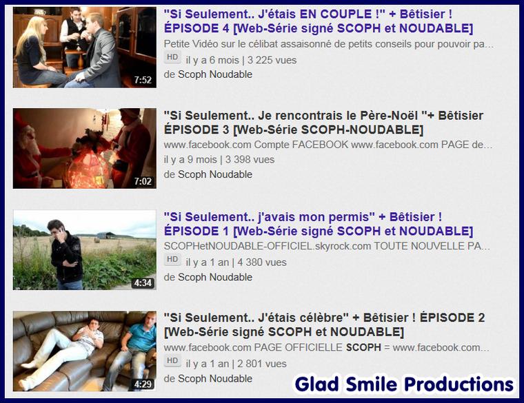 """1er Projet de """" Glad Smile Productions"""" -> la Wéb-Série """"Si Seulement.."""""""
