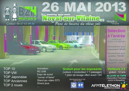 3 ieme meeting auto -moto du BZH Motor's à Noyal Sur Vilaine