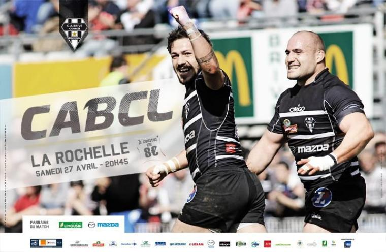 Brive - La Rochelle ! #AllezBrive