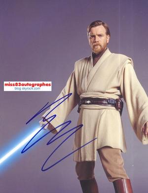 EWAN McGREGOR (Star Wars)