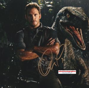 CHRIS PRATT (Les Gardiens de la Galaxie/Jurassic World)